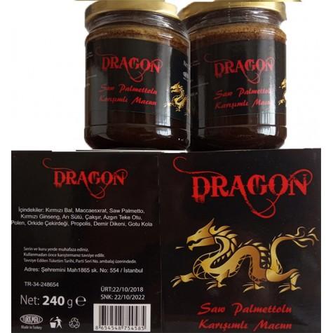 Dragon Kırmızı Ballı Macun