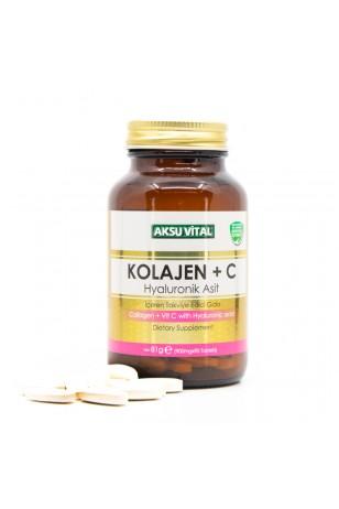 Aksuvital Kolajen + C Vitamini