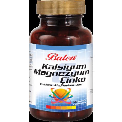 Kalsiyum Magnezyum Çinko Kapsül