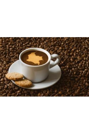 Taze Çekilmiş Kolombiya Kahvesi