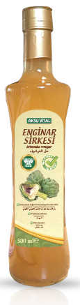 Aksu Vital Enginar Sirkesi 500 Ml